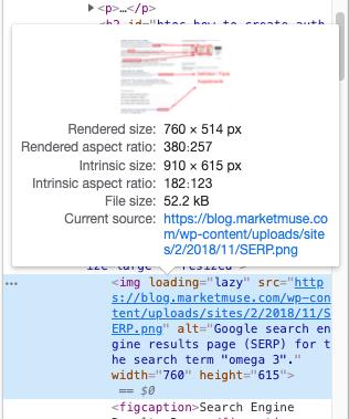 Web page source code.